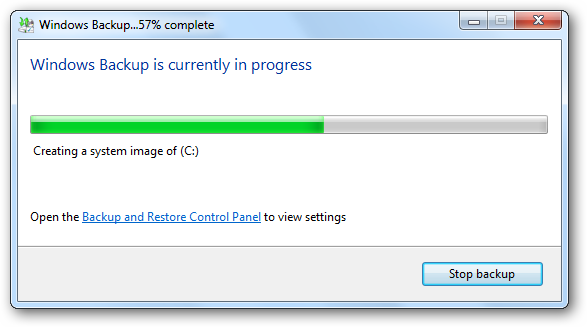 details Windows 7: BackUp and Restore