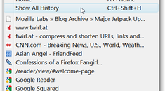 Remove the History for the Website You Just Visited in Firefox
