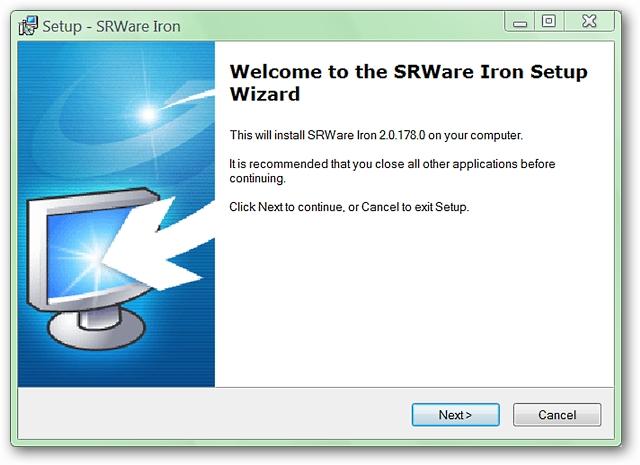 Resultado de imagen para SRWARE IRon installation