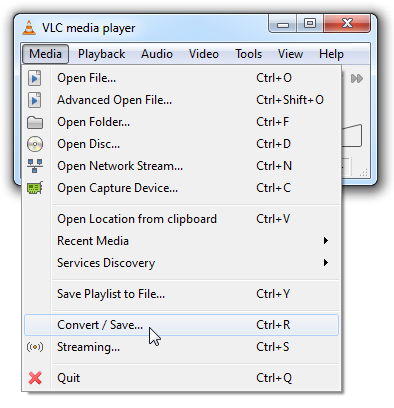 How To Convert Video Files to MP3 with VLC