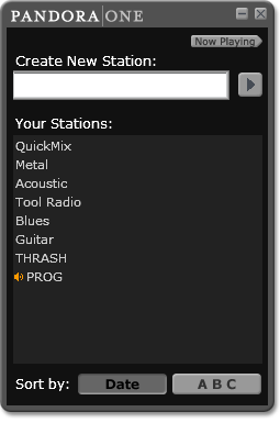 Choose station
