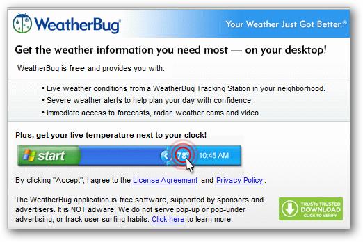 6 weather bug