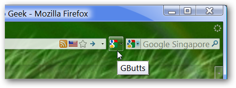 Gbutts - Google Services Firefox