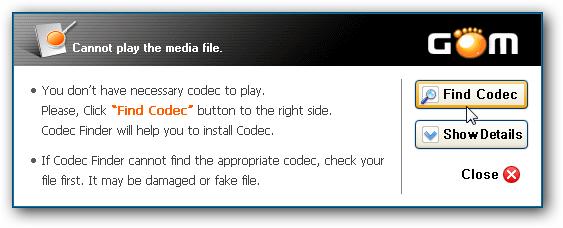 find codec