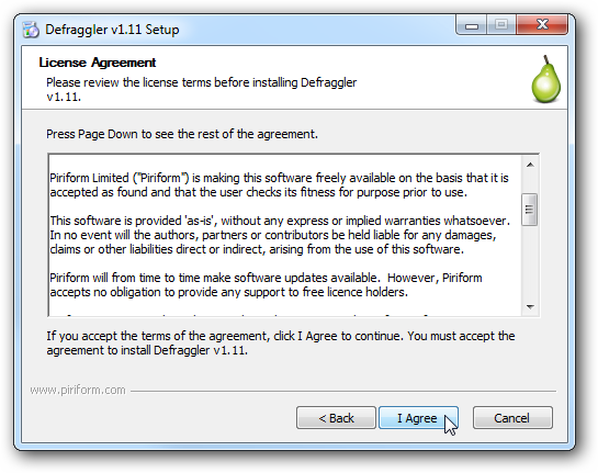 Defraggler Is A Free Utility To Defragment Your Hard Drive