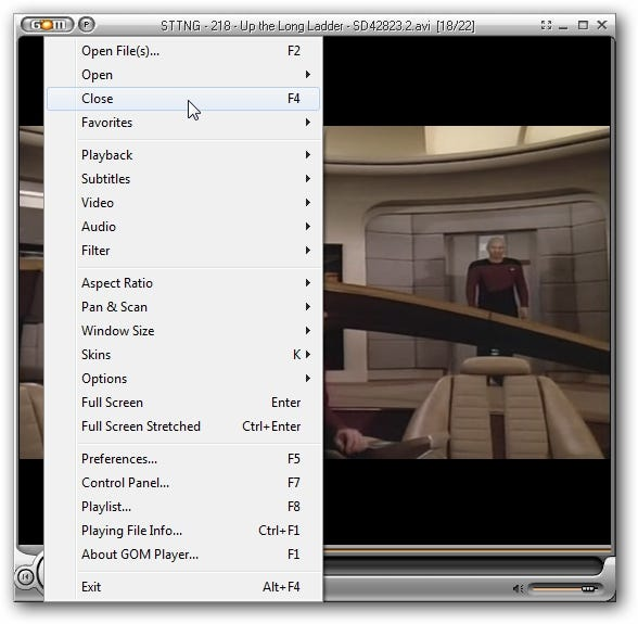 Play Almost Any Video Format with GOM Player