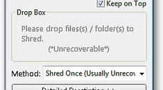 Shred Files Easily with Moo0 File Shredder