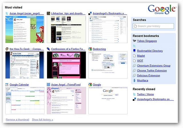 Activate the Redesigned New-Tab Interface in Google Chrome - How ...