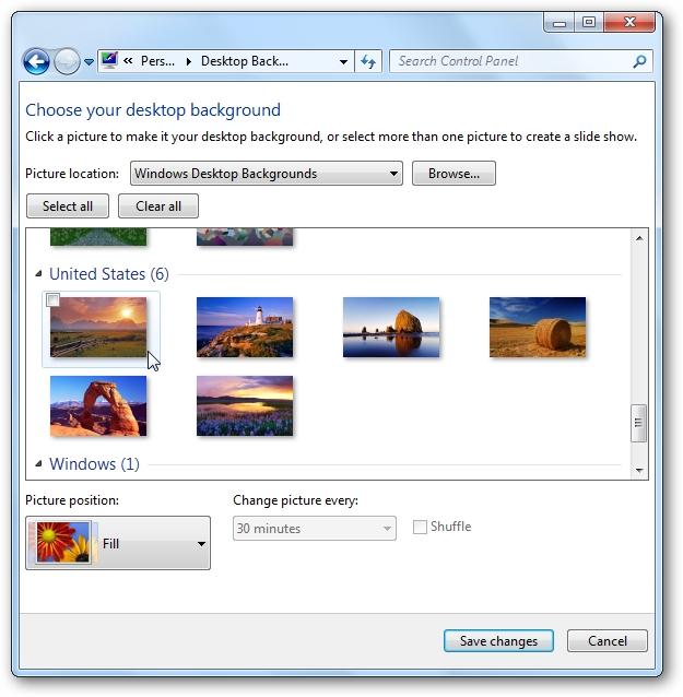 Access Hidden Regional Themes In Windows 7