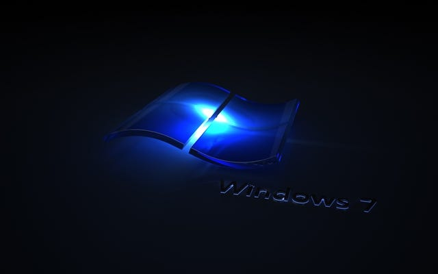 Windows 7 Blue Wave