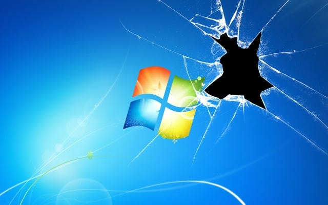 Broken Windows 7