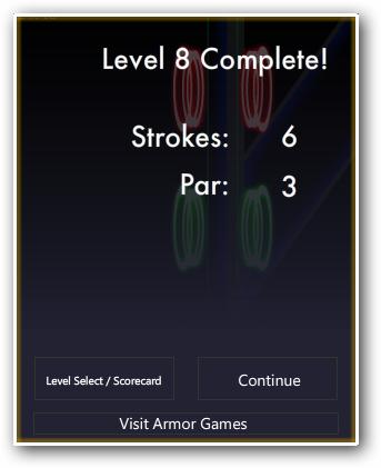 level complete score