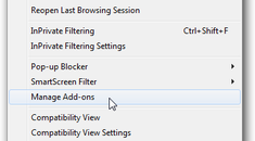 Troubleshoot and Manage Addons in Internet Explorer 8