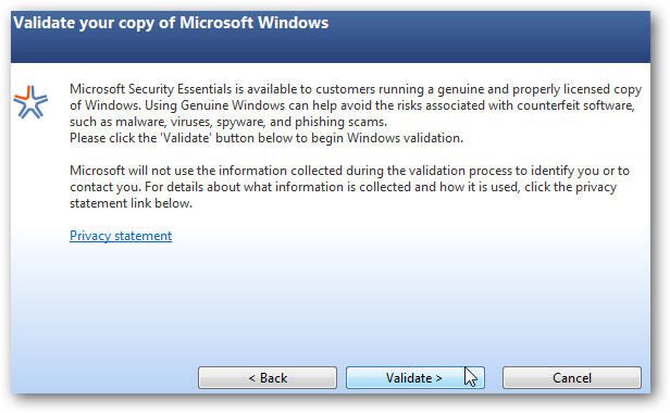 Microsoft Security Essentials is a Free Antivirus Utility