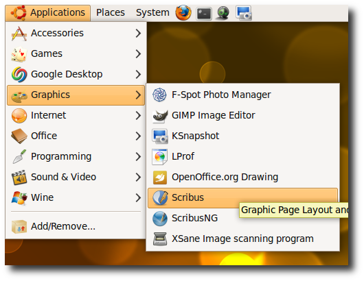 Scribus is an Art Desktop Publishing Tool for Linux