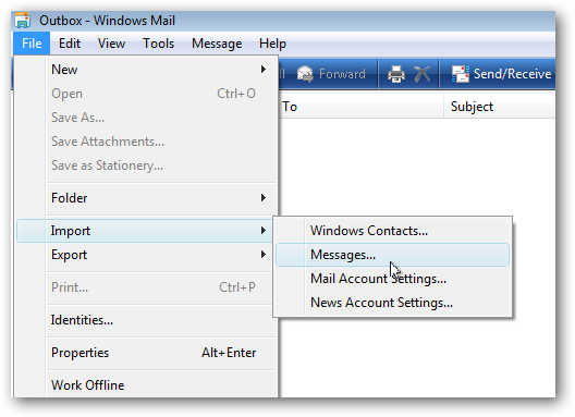 Windows 7 live mail contacts folder location