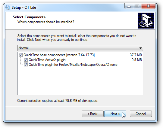 Avoid the Apple QuickTime Bloat with QT Lite