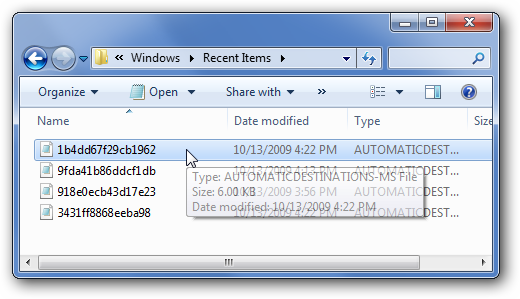 how to show appdata windows 7