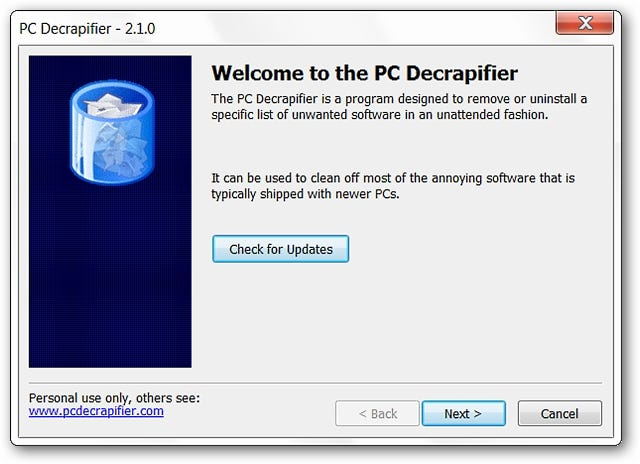 Remove Garbage Software from Your New (or Old) Computer