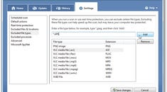 Make Microsoft Security Essentials Scan Faster by Excluding Certain File Types