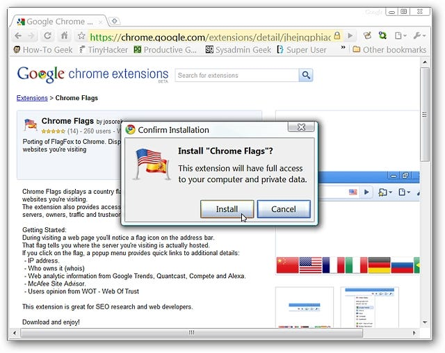 Find a Website's Actual Location with Chrome Flags