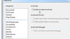 How To Disable Javascript in Adobe Reader and Patch the Latest Massive Security Hole
