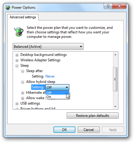 Now You Should Have Hibernate And Sleep As Part Of The Options In Start Menu Will Also Be An Option When Hit Ctrl Alt Del