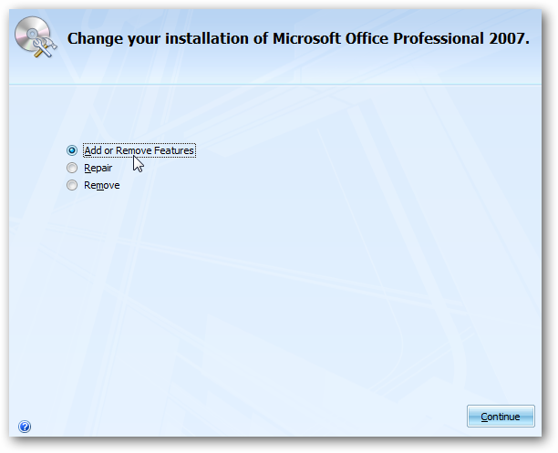 microsoft office 2007 uninstall tool windows 8