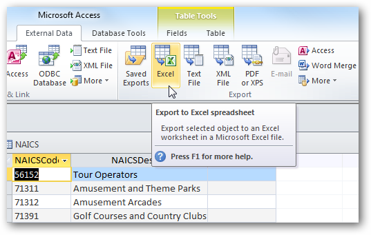 Share access data with excel in office 2010 ibookread