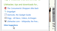 Disable and Remove Suggested Sites From Internet Explorer 8