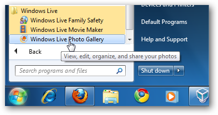 Learning Windows 7 Manage Photos With Live Photo Gallery