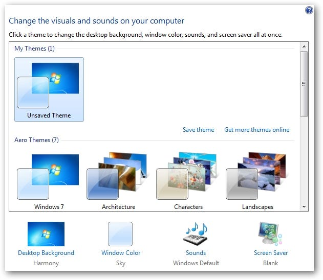 Windows 7 theme manager (windows) download.