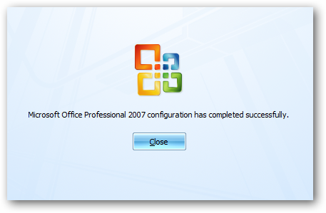 Add or Remove Apps from the Microsoft Office 2007 or 2010
