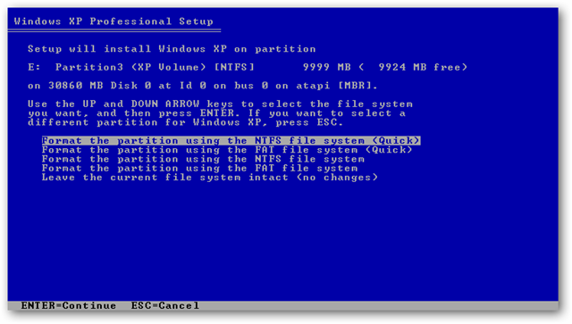 how to install windows 7 on a formatted hard drive