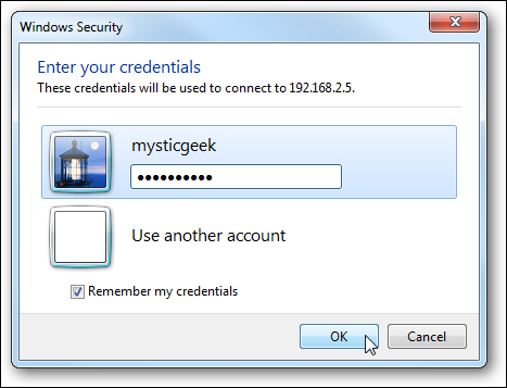 6saved credentials