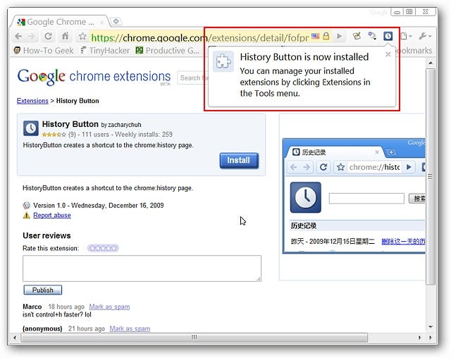 Access Browsing History in Google Chrome the Easy Way