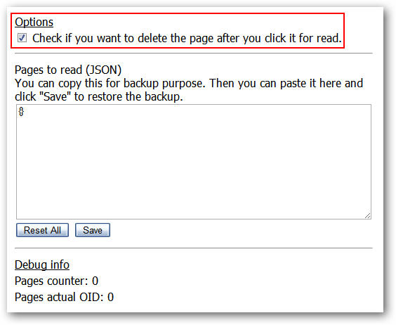 Create Read Later Lists in Google Chrome
