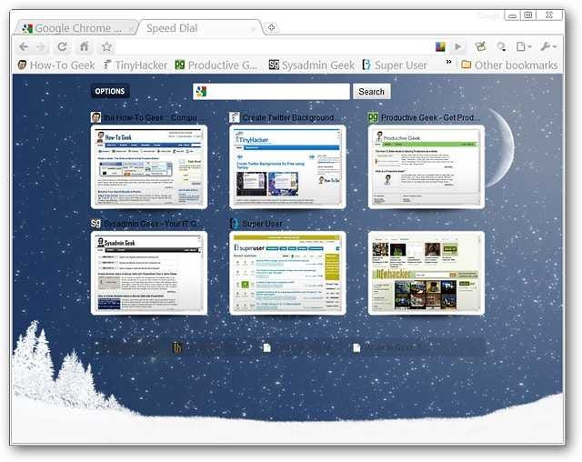 how to change the new tab page on google chrome