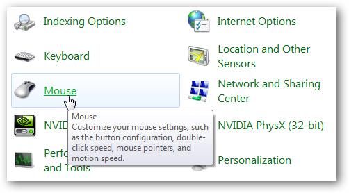 Make Mouse Navigation Faster in Windows