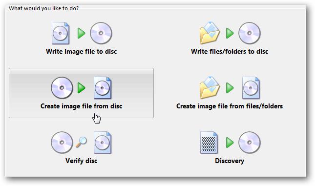 make a bootable disk using imgburn