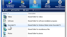 How to Add and Manage Shared Folders on Windows Home Server