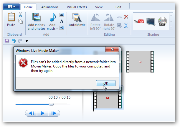 windows movie maker live movie maker
