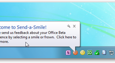 Disable Office 2010 Beta Send-a-Smile from Startup