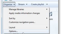 Make Now Playing Mode in Windows Media Player Display on Top