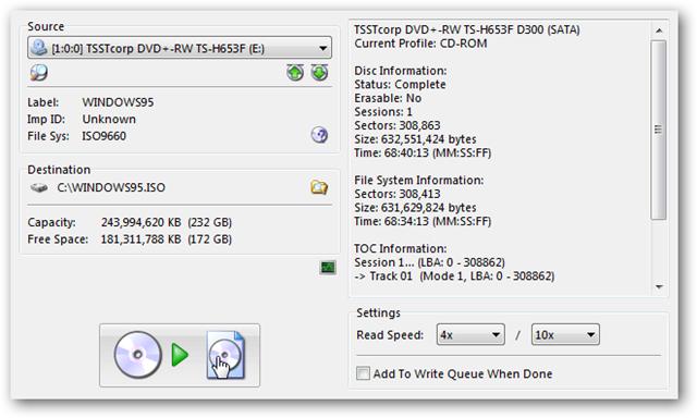 cd to iso converter windows 10