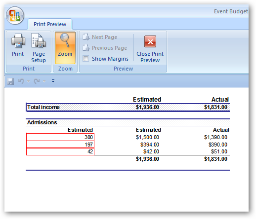how to add up the same item in excel columns