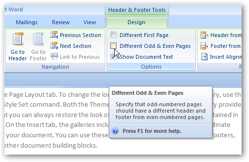 how to format documents in word