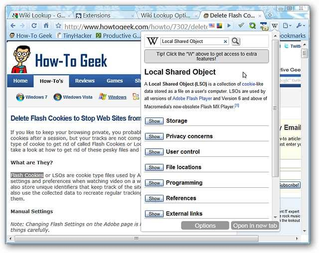 how to search wikipedia from chrome bar