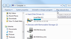 Map a Network Drive from XP to Windows 7