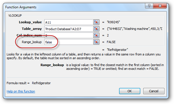 how to use vlookup 2010